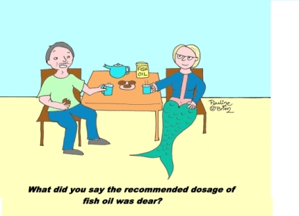 fish oil with caption